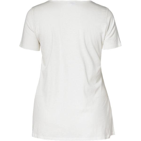 Shirt weiß T Zizzi Zizzi T Shirt OUwqgqxfz
