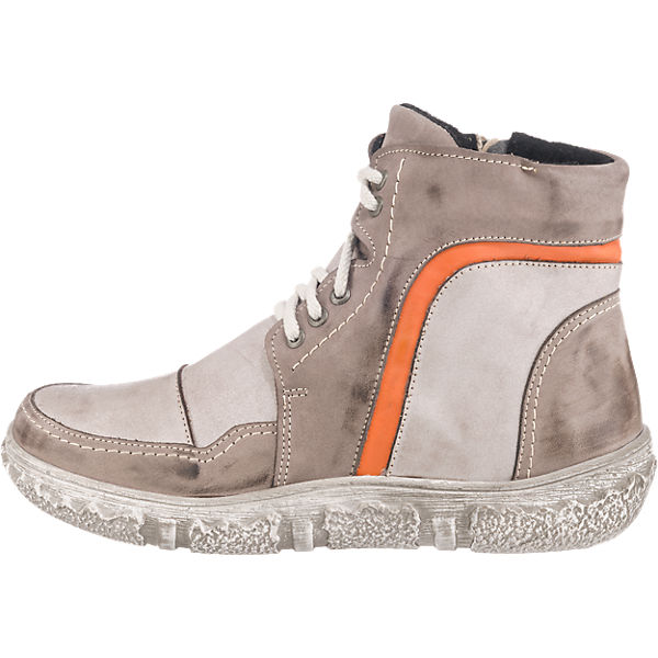 Miccos, Miccos Stiefeletten, grau-kombi    Gute Qualität beliebte Schuhe 8130f6