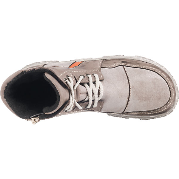 Miccos, Miccos Stiefeletten, grau-kombi    Gute Qualität beliebte Schuhe 65087b