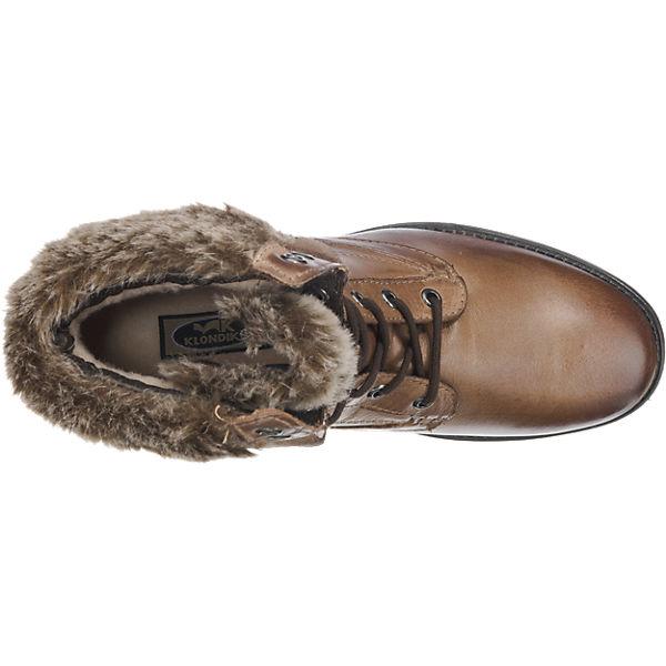 Klondike, Klondike Qualität Stiefeletten, braun  Gute Qualität Klondike beliebte Schuhe 7f2d39