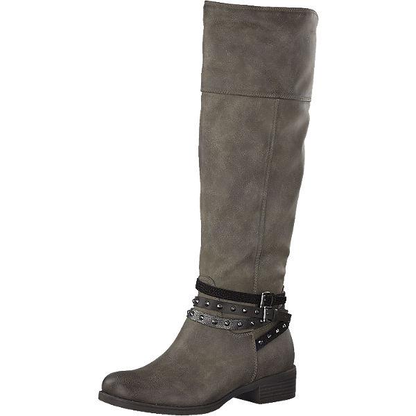 buy popular 98915 a0ef8 MARCO TOZZI, MARCO TOZZI Stiefel, grau | mirapodo