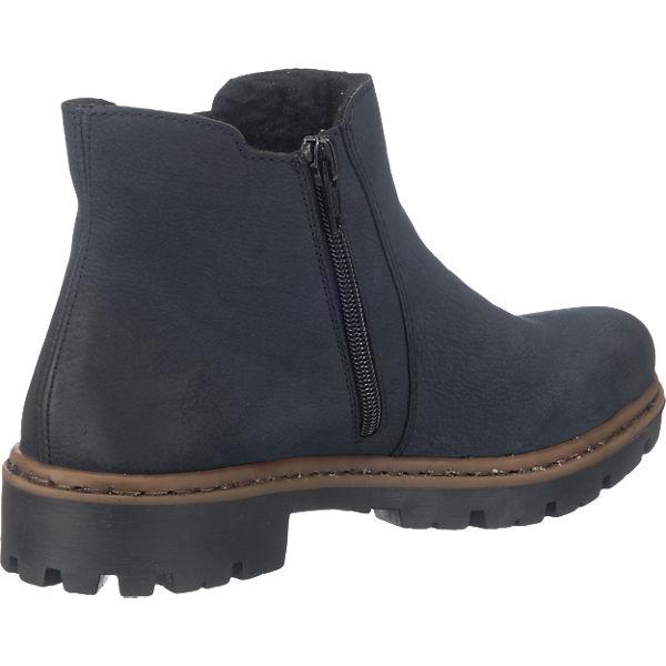 rieker rieker Stiefeletten blau blau blau  Gute Qualität beliebte Schuhe 0ed0c7