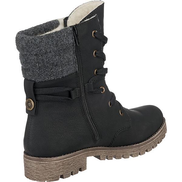 rieker Winterstiefeletten beliebte schwarz  Gute Qualität beliebte Winterstiefeletten Schuhe e587bc