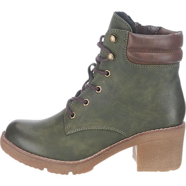 rieker, rieker Qualität Stiefel, grün-kombi  Gute Qualität rieker beliebte Schuhe 25ea4c