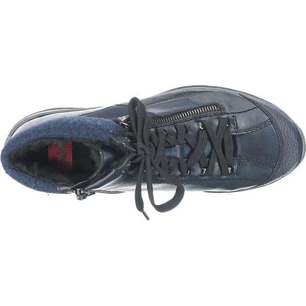 rieker, Gute rieker Stiefeletten, blau-kombi  Gute rieker, Qualität beliebte Schuhe efcfe2