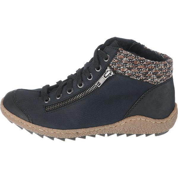 Rieker, rieker Stiefeletten, blau  Gute Qualität beliebte Schuhe