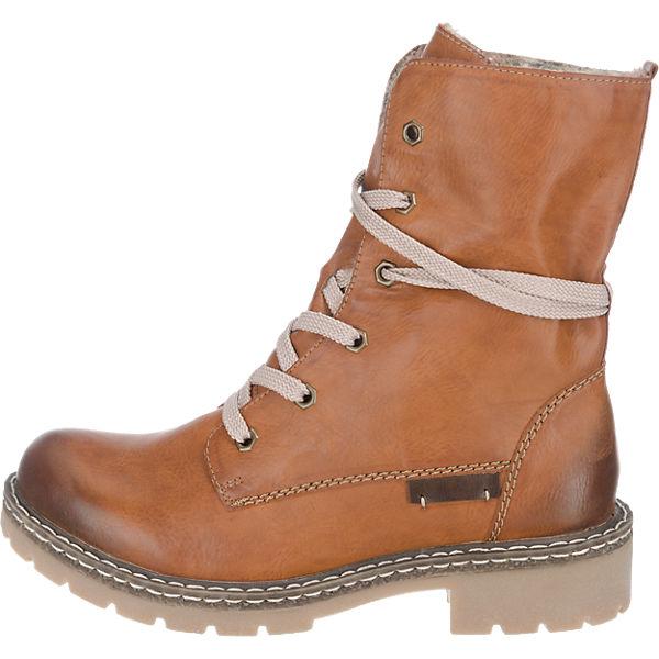 1a8611dff38e rieker, rieker Stiefeletten, braun-kombi Schuhe Gute Qualität beliebte  Schuhe braun-kombi 95e1d4