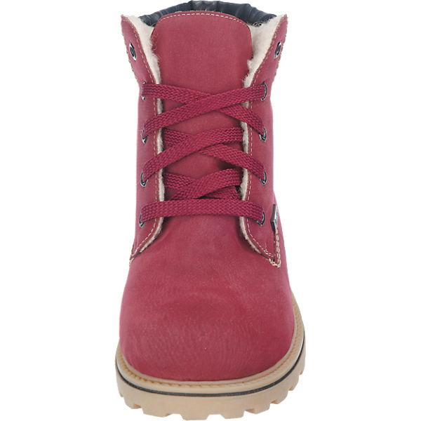 rieker, rieker Gute Stiefeletten, rot-kombi  Gute rieker Qualität beliebte Schuhe 1e2fb3
