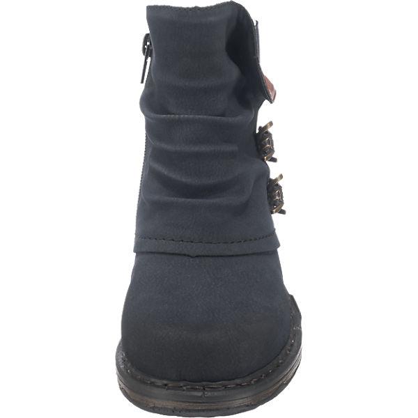 rieker rieker rieker rieker Stiefeletten blau  Gute Qualität beliebte Schuhe 78cfde