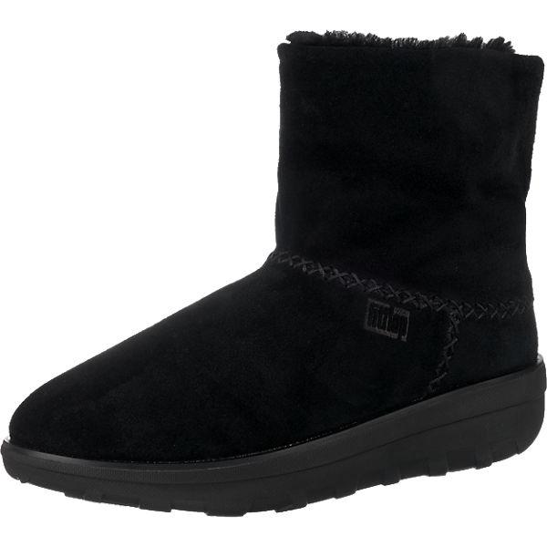 FitFlop, FitFlop Mukluk Shorty 2 Stiefeletten, beliebte schwarz  Gute Qualität beliebte Stiefeletten, Schuhe f12b66