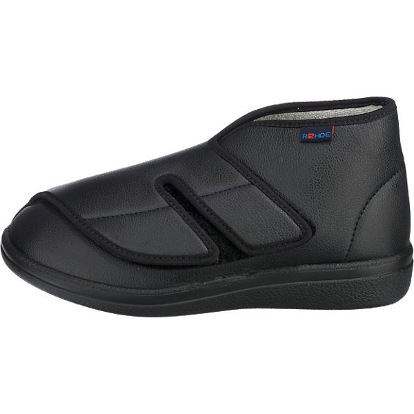 ROHDE, ROHDE Bad Wiessee Hausschuhe, schwarz  Gute Qualität beliebte Schuhe