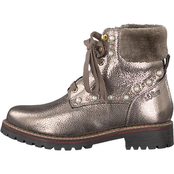s.Oliver, s.Oliver Stiefeletten, gold  Gute Qualität beliebte Schuhe