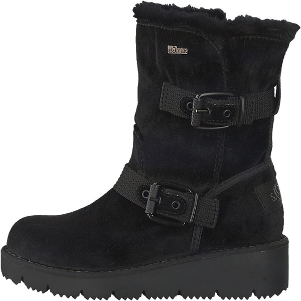 s.Oliver s.Oliver Stiefel schwarz  Gute Qualität beliebte Schuhe