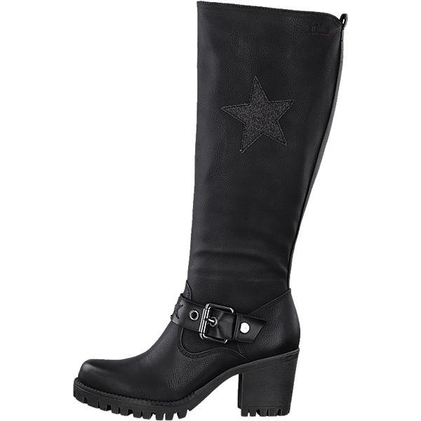 s.Oliver s.Oliver Stiefel schwarz  beliebte Gute Qualität beliebte  Schuhe 79b2ce