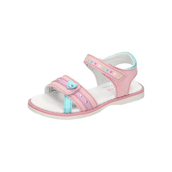Prinzessin Lillifee, Sandalen für Mädchen, pink mirapodo