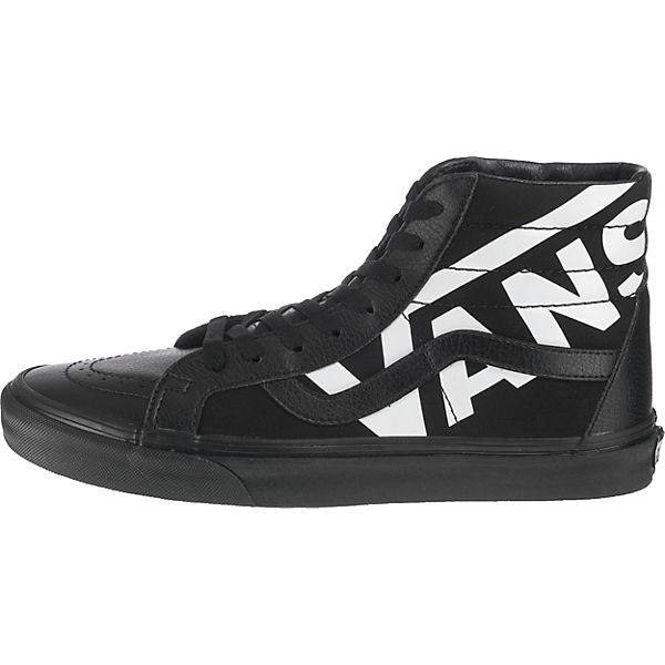 schwarz Sneakers VANS SK8 kombi VANS Hi Reissue qXnOxBHw