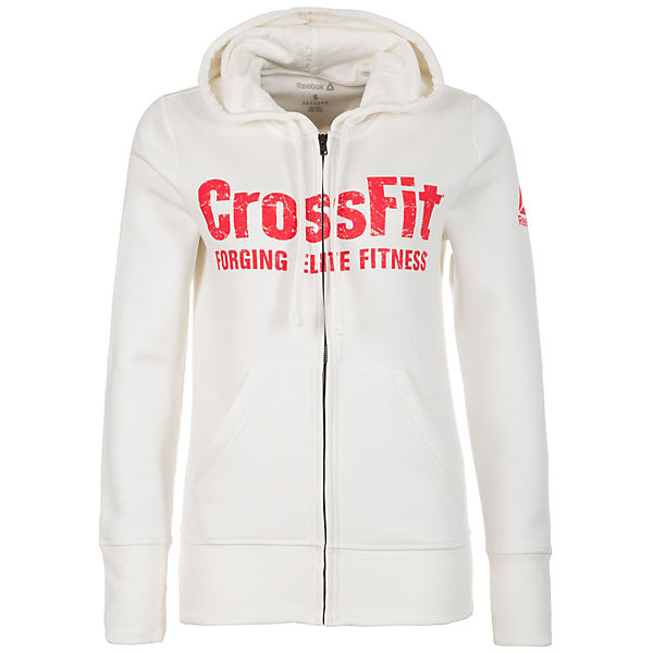 Reebok Trainingsjacke CrossFit weiß