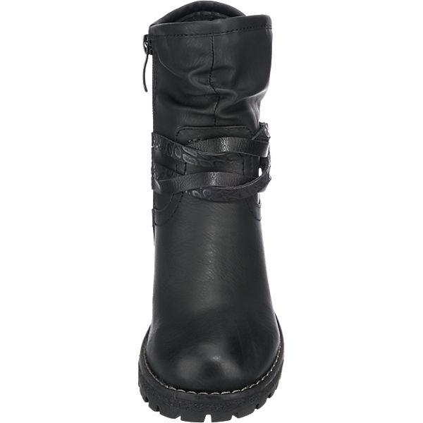 H.I.S., H.I.S. Stiefeletten, schwarz schwarz Stiefeletten,   9daffa