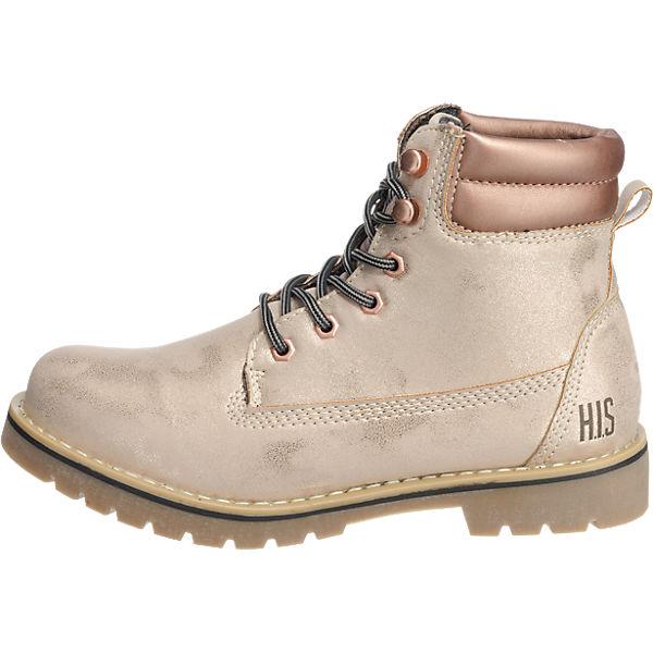 H.I.S., H.I.S. Stiefeletten, beige   beige  54116d