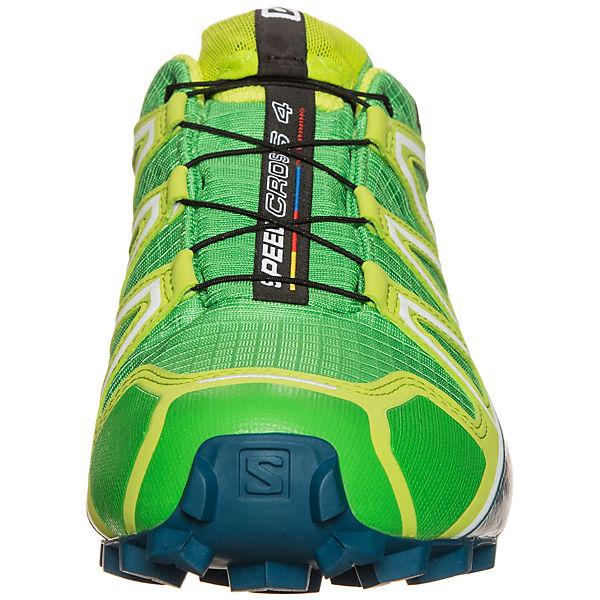 Salomon 4 GTX Speedcross grün Laufschuh Trail Salomon Cq7andF7