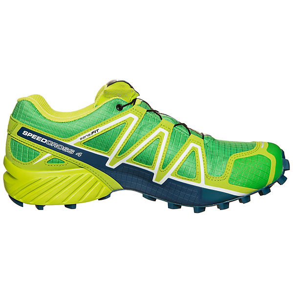 Salomon 4 GTX Speedcross grün Laufschuh Trail Salomon Cq7andF7