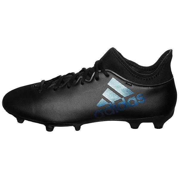 Performance 3 17 schwarz Performance X adidas FG adidas Fußballschuh vFqdvH