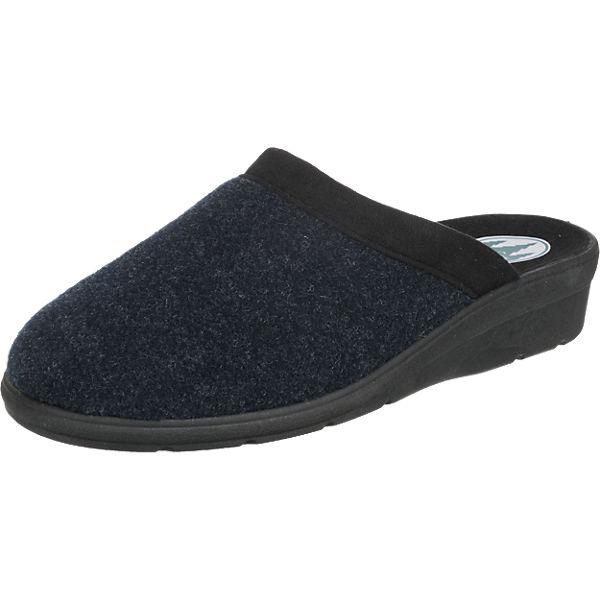 Franken-Schuhe Franken-Schuhe Hausschuhe blau
