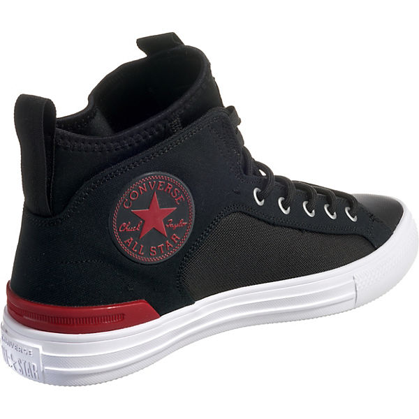 CONVERSE, CONVERSE Chuck Taylor All Star Ultra Mid Mid Mid Sneakers, schwarz   7f2d17