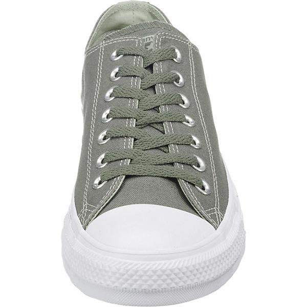 CONVERSE, CONVERSE Chuck Taylor All Star  Ox Sneakers, dunkelgrün   Star d46eee