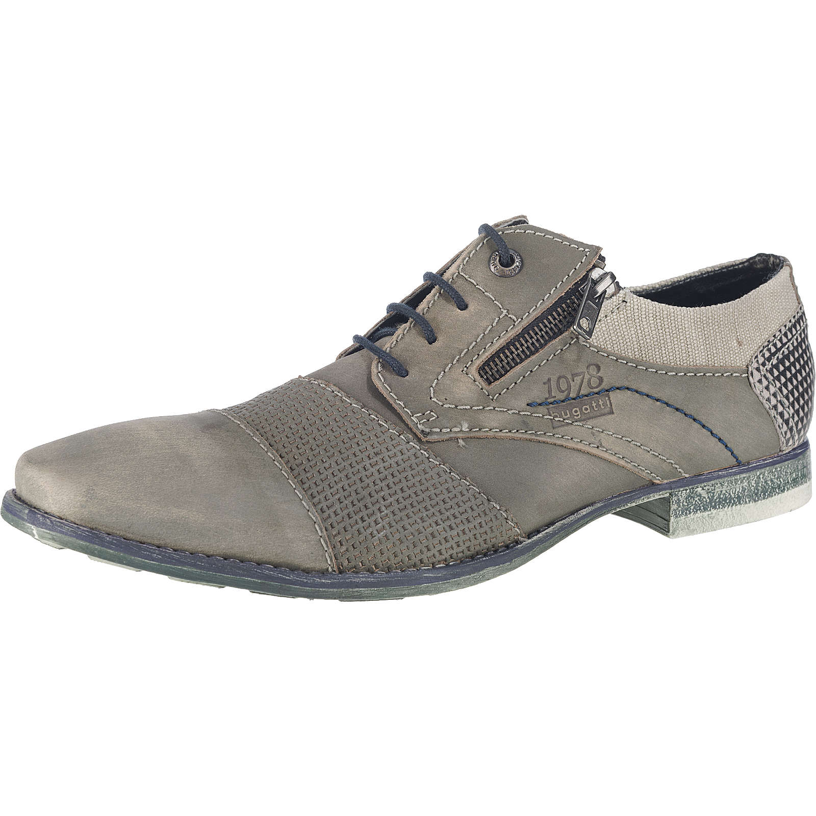 bugatti Freizeit Schuhe grau Herren Gr. 40