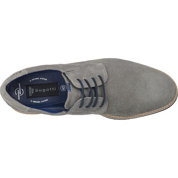 Freizeit bugatti Schuhe extraweit hellgrau bugatti 5Xfavxw5q