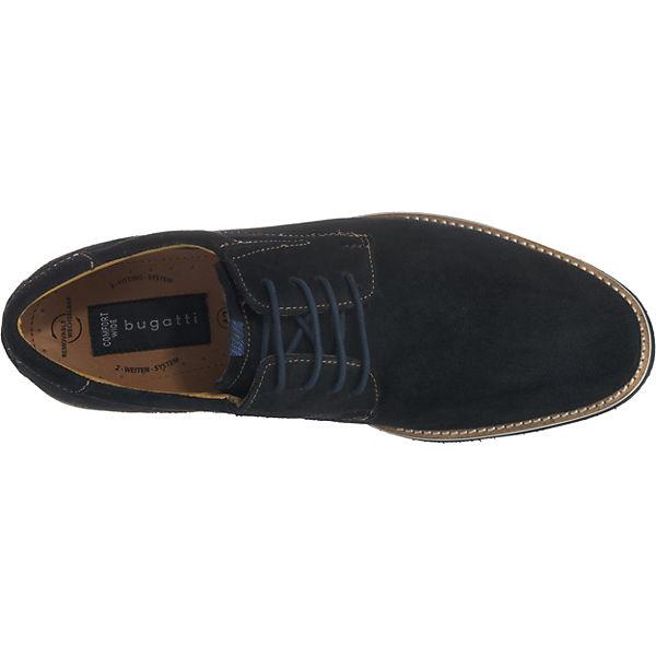 bugatti, dunkelblau bugatti Freizeit Schuhe extraweit, dunkelblau bugatti,   a7389c