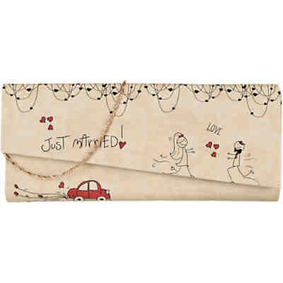Dogo Shoes Dogo Shoes Clutch Just Married Abendtasche