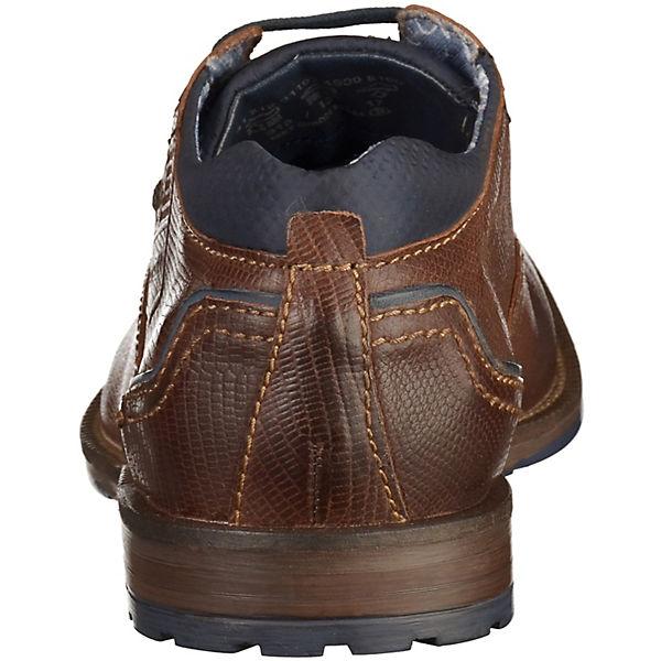 bugatti bugatti Freizeit Schuhe dunkelbraun