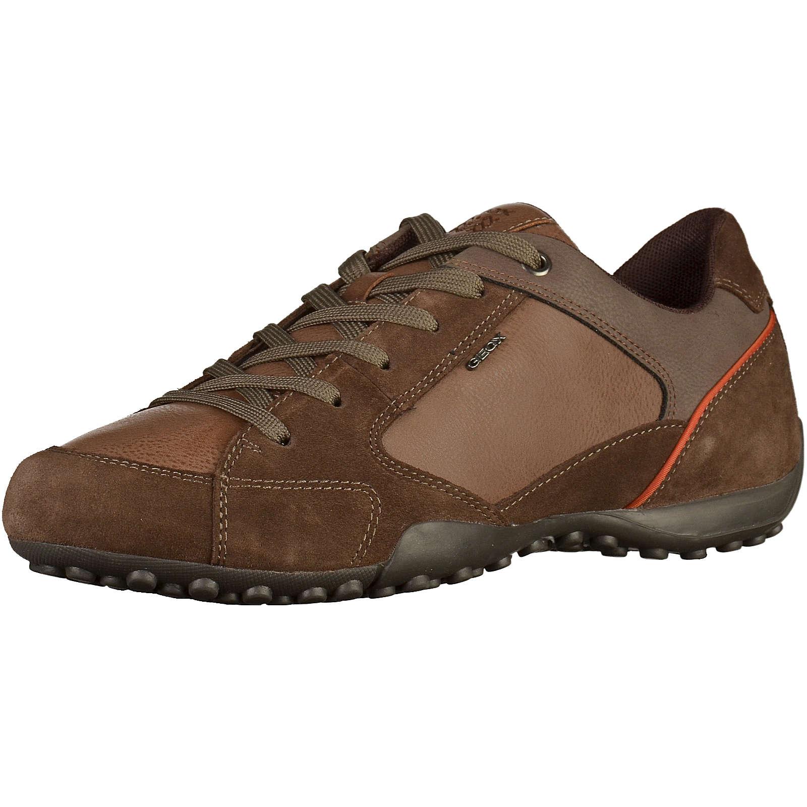 GEOX Freizeit Schuhe braun Herren Gr. 41
