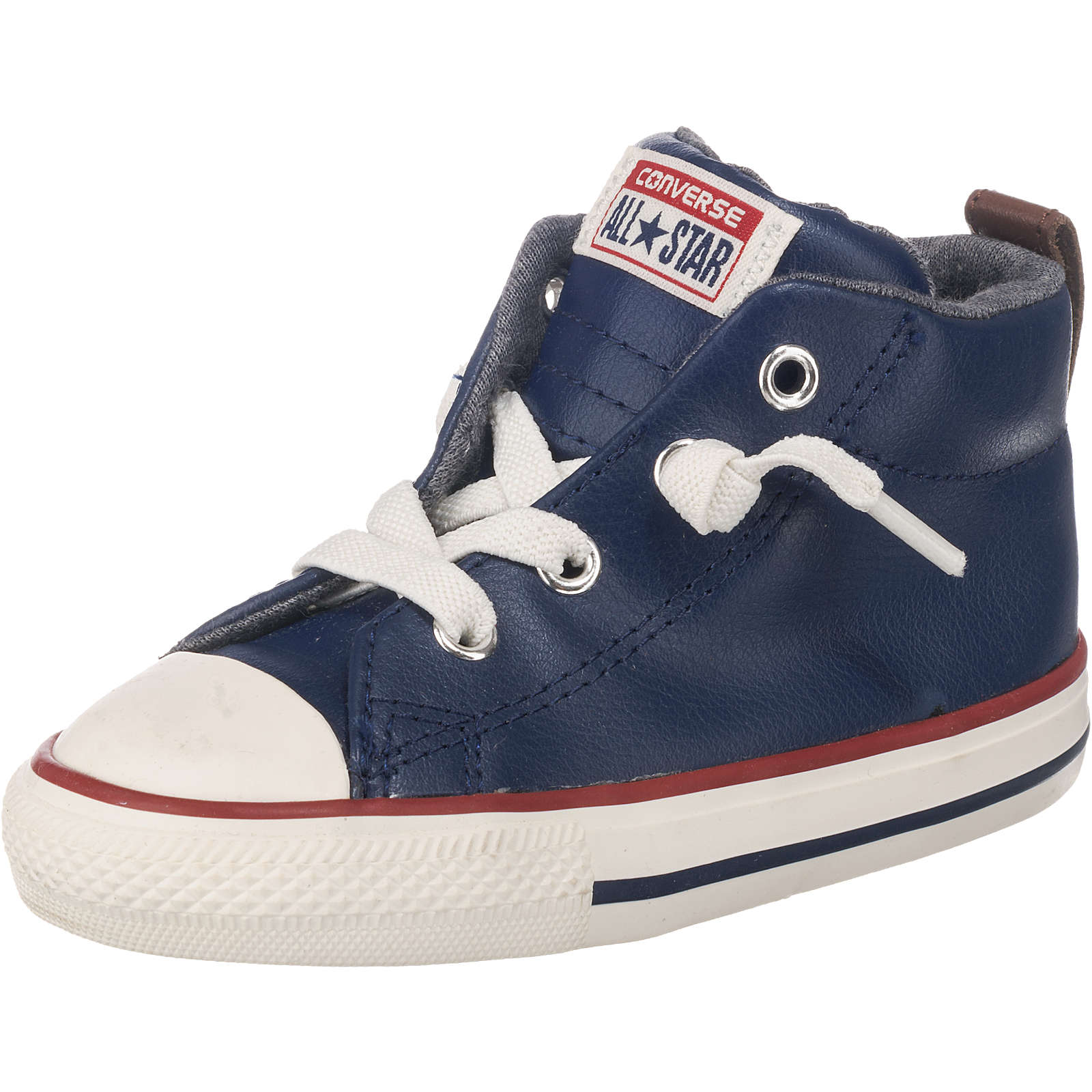 CONVERSE Baby Sneakers Chuck Taylor All Stars STREET MID blau Junge Gr. 19