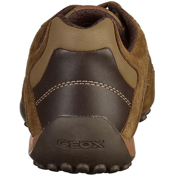 GEOX Freizeit GEOX Schuhe braun GEOX GEOX RSwpgqdw6
