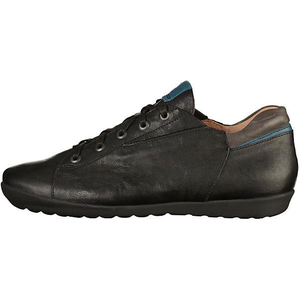 Think!, Think! Halbschuhe, schwarz  Gute Qualität beliebte Schuhe