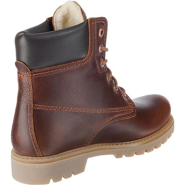 PANAMA JACK Panama 03 Wool B9 Schnürstiefeletten dunkelbraun  Gute Qualität beliebte Schuhe