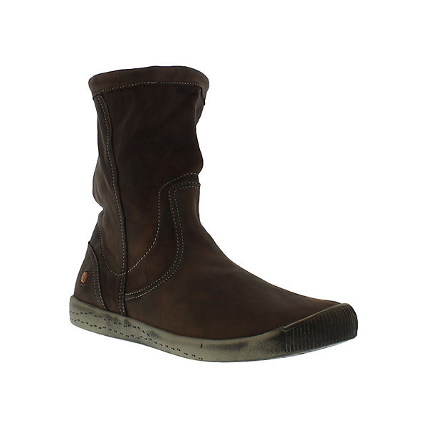 softinos Stiefeletten Kaltfutter IGGY TOP washed leather HW16