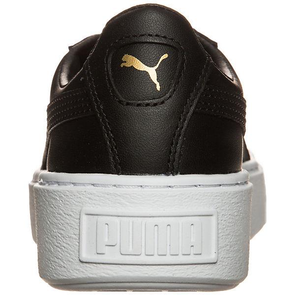 PUMA, Sneakers, PUMA Basket Platform Core Sneakers, PUMA, schwarz Gute  Qualität beliebte Schuhe e6c31b 35d94c632e