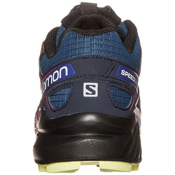 Salomon GTX Salomon Speedcross 4 Sportschuhe dunkelblau Trail rArg8n