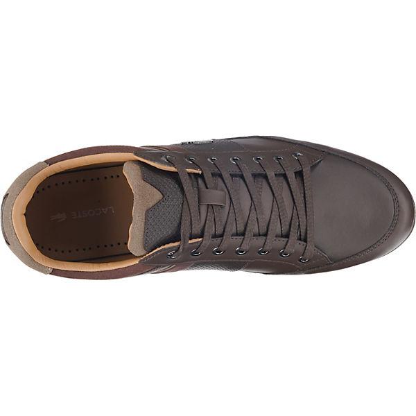 Cam Chaymon Sneakers 118 braun kombi LACOSTE LACOSTE 1 xIgwqHxO