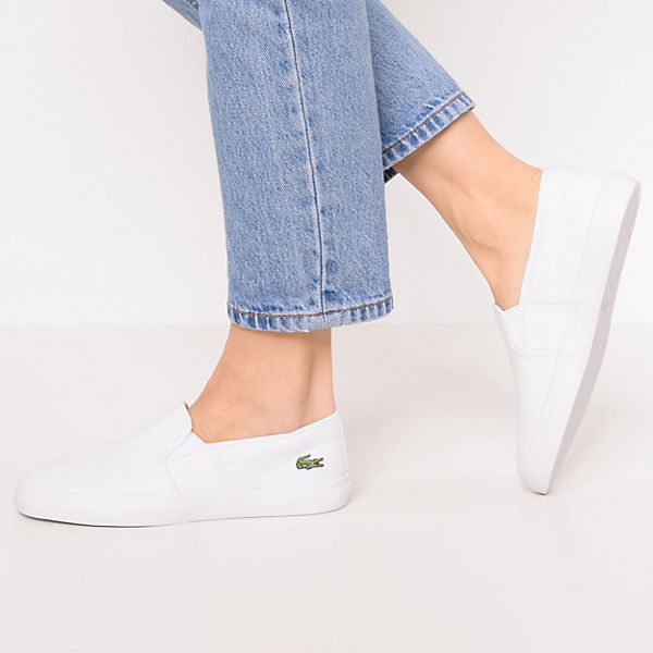 LACOSTE, LACOSTE Gazon Bl 2 Spw                         Slipper, weiß  Gute Qualität beliebte Schuhe e2a5d1