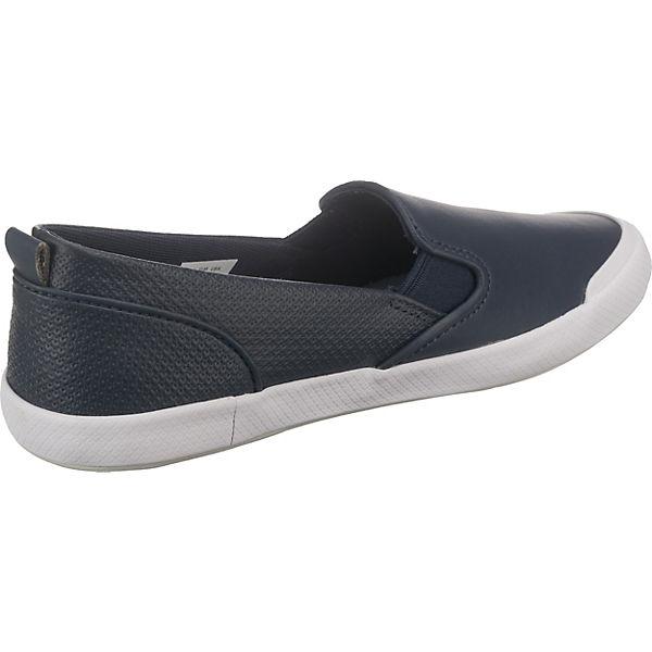 LACOSTE, LACOSTE Lancelle Slip On 118 1 Caw Slipper, blau Schuhe  Gute Qualität beliebte Schuhe blau 8a31bb