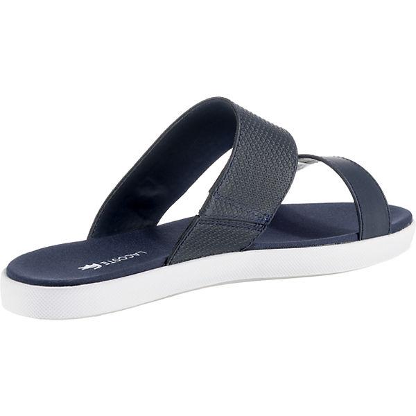 LACOSTE, LACOSTE  Natoy 118 1 Caw    LACOSTE           Pantoletten, blau  Gute Qualität beliebte Schuhe ca4d73