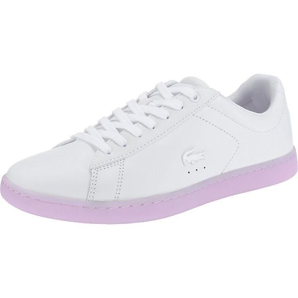 3 118 weiß LACOSTE Spw Sneakers Evo Modell LACOSTE Carnaby 2 gwqIU