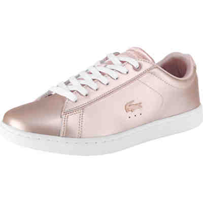 super popular 48e11 72589 LACOSTE, Carnaby Evo Sneakers Low, rosegold