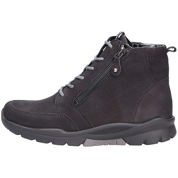 WALDLÄUFER, WALDLÄUFER Comfort Stiefeletten Kaltfutter, schwarz  Gute Qualität beliebte Schuhe