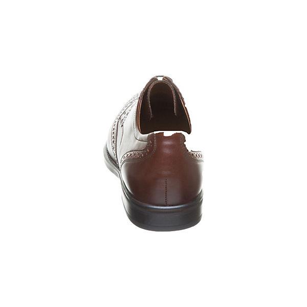 Schnürschuhe Freizeit WALDLÄUFER Schuhe braun WALDLÄUFER x4t6wzzq